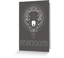 Beartooth Fan Art White Greeting Card