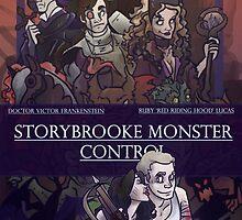 Storybrooke Monster Control by Jeh-Leh-Loh