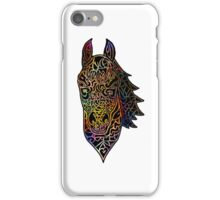 Colorful Intricate Horse Head Design iPhone Case/Skin