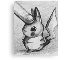 Pet pikachu Canvas Print