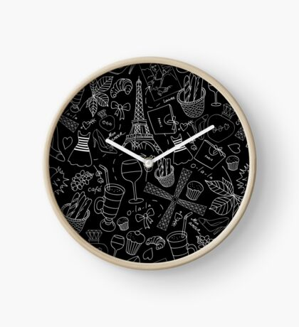 - Walking in Paris pattern 2 - Clock