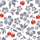 - Cherry blossom pattern - by Losenko  Mila