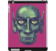 the curse of the vampire iPad Case/Skin