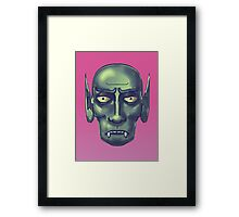 the curse of the vampire Framed Print