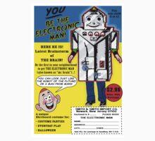 Electronic Man  Comic Book Ad Kids Tee