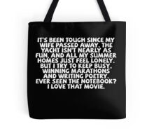 The ultimate pickup line. Tote Bag