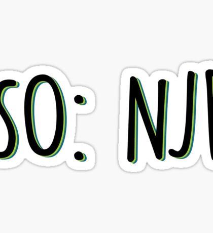NJB Sticker