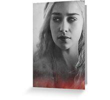 Khaleesi game of thrones Daenerys Greeting Card