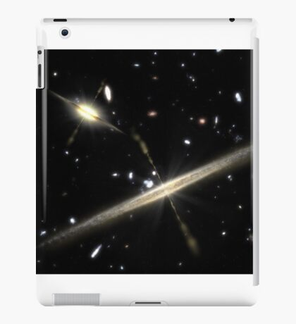 Galaxy space quazar iPad Case/Skin