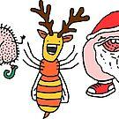 Willy Bum Bum - Christmas! by alienredwolf