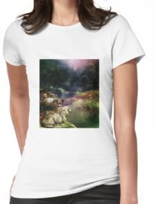 RAMS IN THE WILD Womens Fitted T-Shirt