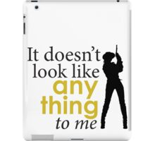 Westworld - It doesn't look like anything to me iPad Case/Skin