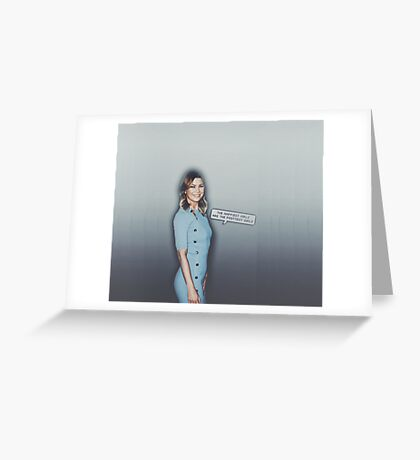 #Cool Ager Greeting Card