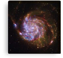 Spiral Galaxy Outer Space Canvas Print