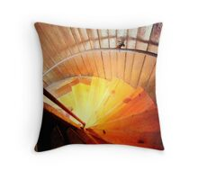 The Stairwell ^ Throw Pillow