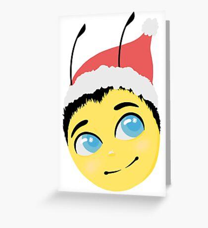Festive Barry b benson Greeting Card