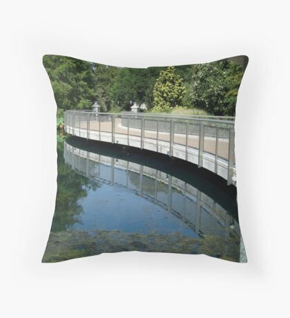 Bridge Reflection - Calendar Image   ^ Throw Pillow
