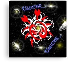 Cancer - Astrology Sign Canvas Print