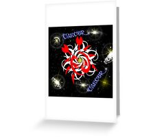 Cancer - Astrology Sign Greeting Card