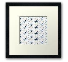 Watercolor Lavender Framed Print