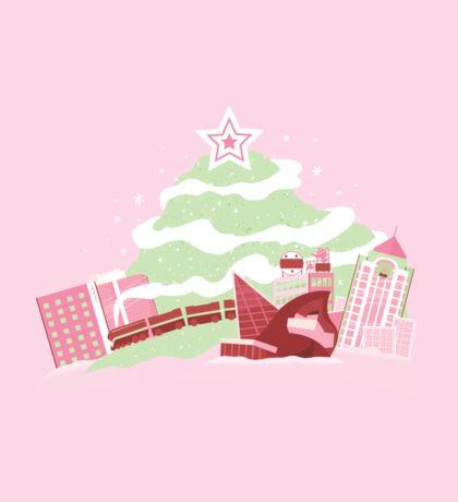 My Roanoke Holiday Sticker