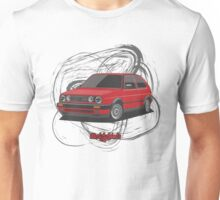 Volkswagen Golf GTI G60 (red) Unisex T-Shirt