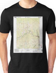 USGS TOPO Map California CA Sawyers Bar 295112 2001 24000 geo Unisex T-Shirt