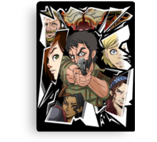 Last of Us - Shattered Canvas Print