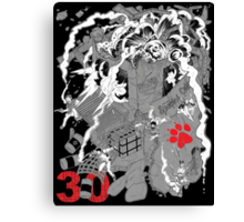 Naughty Dog 30th Anniversary - Chaos Canvas Print