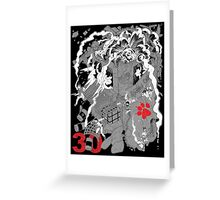 Naughty Dog 30th Anniversary - Chaos Greeting Card