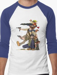 Naughty Dog - Drake, Joel, Jak Men's Baseball ¾ T-Shirt