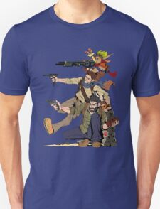 Naughty Dog - Drake, Joel, Jak Unisex T-Shirt