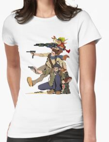 Naughty Dog - Drake, Joel, Jak Womens Fitted T-Shirt