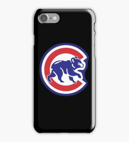 Chicago Cubs Bear iPhone Case/Skin