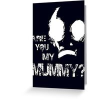 The Empty Child Greeting Card