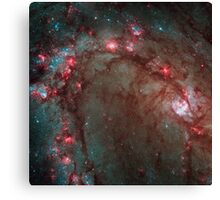 Hubble Wide Field Camera 3 Image Details Star Birth in Galaxy M83 Canvas Print