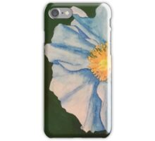 Flower Watercolor Painting iPhone Case/Skin