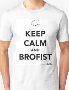 Brofist mania keep calm  T-Shirt