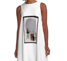 In the Moon's Shadow A-Line Dress