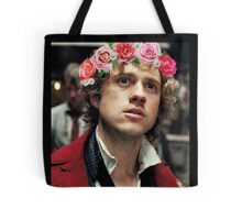 Enjolras with a Flower Crown Tote Bag