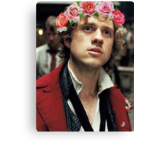 Enjolras with a Flower Crown Canvas Print