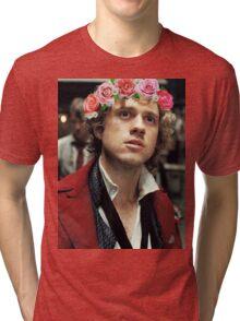 Enjolras with a Flower Crown Tri-blend T-Shirt