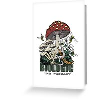 BioLogic Forest Floor Design Greeting Card
