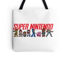 Super Nintendo Games Tote Bag
