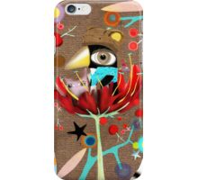Crazy Eyes Penguin iPhone Case/Skin
