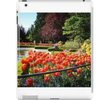 Spring Tulips - Floral Collection (2) iPad Case/Skin