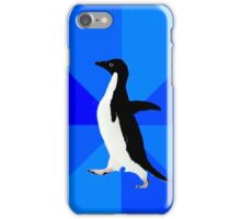 Socially Awkward Penguin MEME iPhone Case/Skin
