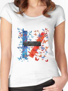Twenty One Pilots Women's Fitted Scoop T-Shirt