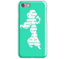 A Whole New World (green) iPhone Case/Skin