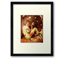 Winsome Woman Framed Print